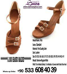 Spica Dance Shoes Standart Series Ara Model. %100 Hand Made www.dancespica.com