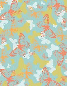 Butterfly Migration Wrapping Paper