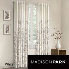 Madison Park Aramo 84 inch Curtain Panel | Overstock.com Shopping - The Best Deals on Curtains
