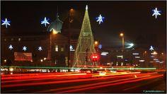 Bucharest at Christmas Bucharest, Romania, Fair Grounds, Tower, Building, Christmas, Fun, Travel, Xmas
