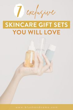 Finding the perfect gift for a loved one can be, well, difficult! So, today I've compiled 7 skincare gifts sets that you can choose from for anyone on your list! After all, we all want healthier skin, right? These gift sets are unique and affordable. Read on for my top 7 gift set suggestions! #giftsforher #skincare #giftsets