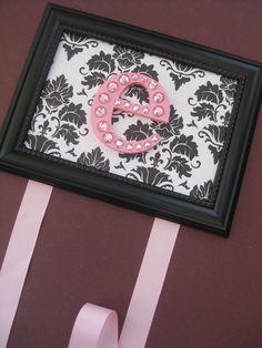framed bow holder