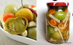 Gogonele murate la borcan reteta pas cu pas | Savori Urbane Pickels, Romanian Food, Preserves, Food Inspiration, Cucumber, Recipies, Easy Meals, Urban, Vegetables