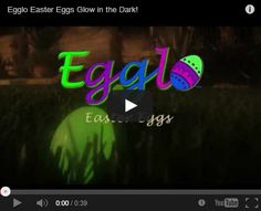 This looks like so much fun!! Glow-in-the-dark egg hunts that focus on the TRUE meaning of Easter. Kids search in the dark for glowing Egglo Eggs. The light of the eggs represent Jesus, the light of the world. EggloEggs.com. #easter