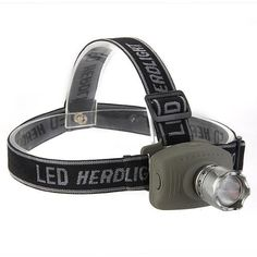 TOMOUNT CREE Q5 LED Headlamp Lamp Flashlight 800LM Zoomable 3 Modes Hunting *** For more information, visit image link.
