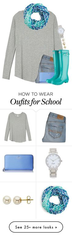 """""""Let's be birds, oh oh oh, where you wanna go just say the words"""" by meljordrum on Polyvore featuring Abercrombie & Fitch, Kate Spade and Lord & Taylor"""