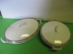 Thes are truly vintage serving dishes. teamsellit