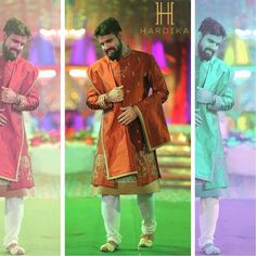 Our #handsome client wearing our #indian wear in a big fat #indianwedding 😍  #hardikagualti #hardika #proud #fashiondesigner #instamood #instagood #photooftheday #like4like #followme