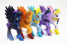 Rare My Little Pony Princess Luna Nightmare Moon Applejack With Crown Kid Toy