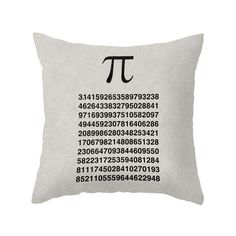 Have Some Pi Throw Pillow