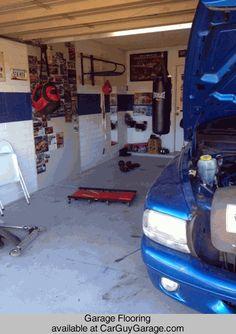 http://www.carguygarage.com  Garage Flooring