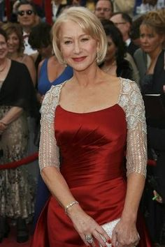 Fashion Tips for the Older Woman-I adore Helen Mirren!!!