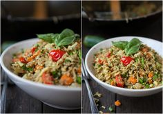 Masala Cauli-Fried Rice (Grain Free, Vegan, Paleo, Primal) : The Urban Poser