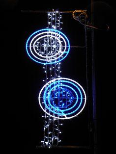 Christmas Lights, illuminations noël, by Blachère Illumination. Badaroux, France