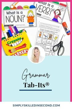This year I decided to add a little bit more practice for these skills and incorporate their work in their Interactive Notebooks. I created a new resource called Grammar Tab-Its! Oh BOY! My kiddos LOVED THEM…which = 1 Happy Teacher! We were working on Contractions last week so I whipped out my new Grammar Tab-its on Contractions and they were ALL GUNG HO! FREEBIE INCLUDED!