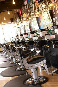 Barbershop internal. Takara Belmont
