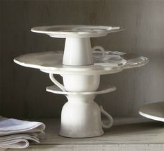 Handmade cake stand for inspiration