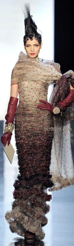 Jean Paul Gaultier Haute Couture- I officially love you jean paul Gaultier.
