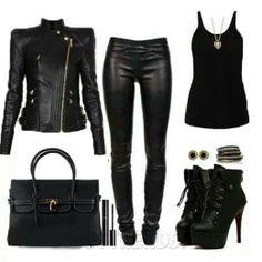 all black everything..... For the days I'm feeling like a international spy.....lol!!