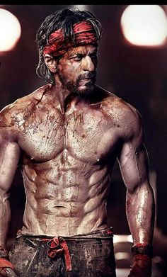 shahrukh khan happy new year look 8 packs - Google Search