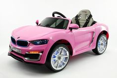 BMW STYLE RIDE-ON CAR BY MODERNO KIDS - FRONT SIDE VIEW