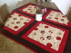Resultado de imagem para toalhas para mesa patchwork