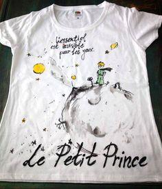 Le Petit Prince Tshirts. Graphic Le Petit Prince by palettePandora