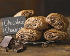 Chocolate Chocolate Croissants