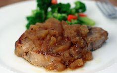 Apple Orchard Pork Loin Chops, Crock pot recipe