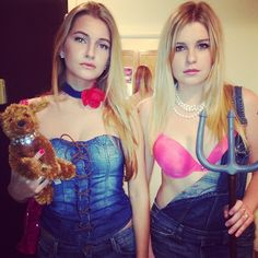 Pin for Later: Oops, We Did It Again . . . 31 Millennial Costumes That Are So Fetch Paris and Nicole: The Costume Channel the heiresses by rocking some denim overalls and carrying a toy pooch.