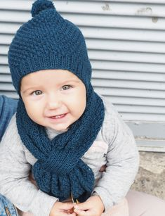 Babyset Baby Set, Baby Kind, Knitted Hats, Winter Hats, Knitting, Fashion, Kids, Knit Hats, Moda