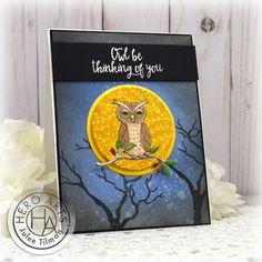 Snow Cabin, Owl Moon, Deer Ornament, Owl Photos, White Gel Pen, Holly Berries, Woodland Theme, Bird Cards, Winter Trees