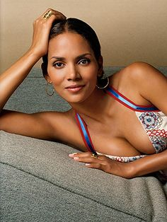 Halle Berry...and no I didn't name my daughter after her...I just really like that name