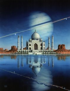 Art by Peter Elson - The Sirens Of Titan