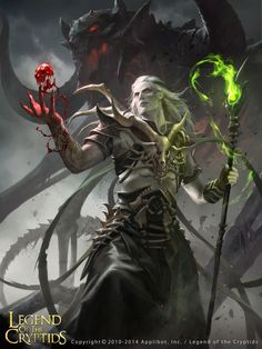 Artist: Jack Wang - Title: Legend of the Cryptids - Card: Cobalt, Shady Magician (Interested)