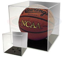 Basketball Hold Football Bcw Deluxe Acrylic Ball Stand Volleyball Or Soccer Terrific Value