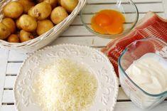 New potatoes with carbonara sauce Carbonara Sauce, Antalya, Camembert Cheese, Bacon, Potatoes, Kitty, Food, Kitten, Meal