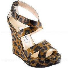 Jimmy Choo Penny Wedge Sandals