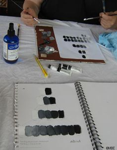 What Is Tone and Why Is it Important to Painting?: Practise Tone by Painting a Gray Scale or Value Scale