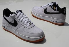 """Nike Air Force 1 Low """"Canvas/Gum"""""""