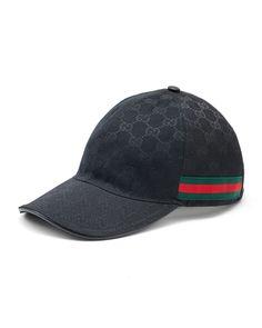 5e8e590c673 Gucci Canvas Baseball Hat