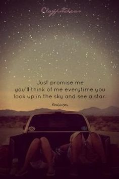 Star gazing with someone special