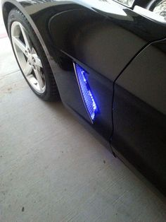 Chevy Corvette C6 Side Cove Vent led Lights With Wireless remote-www.corvettesolution.com by CorvetteSolution on Etsy