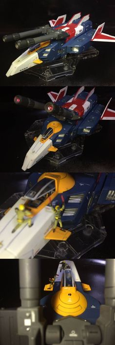MG G-Fighter [ガンダム Ver.2.0用V作戦モデル] + Core Fighter: Painted Build by gockn1218…