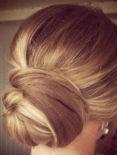 Les plus beaux chignons de Pinterest - Le chignon élaboré