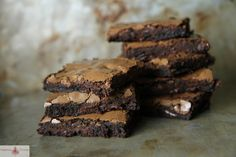 because the time is right for pumpkin fudge brownies...
