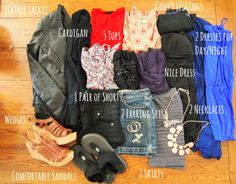 How to Pack for Vegas. what to bring to Vegas. Exploring My Style blog