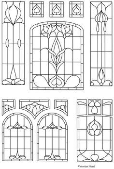 Victorian Stained Glass Designs Welcome to Dover Publications
