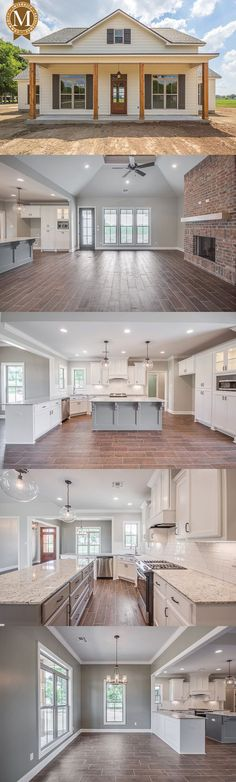 Literally my dream home. Sterling Farmhouse Living Sq Ft: 2206 Bedrooms: 3 or 4 Baths: 2 Lafayette Lake Charles Baton Rouge Louisiana Future House, My House, Farm House, Kids House, Farmhouse Plans, Modern Farmhouse, Farmhouse Style, Farmhouse Layout, Farmhouse Decor