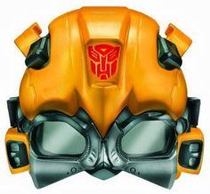 Máscaras de Transformers para Imprimir Gratis.